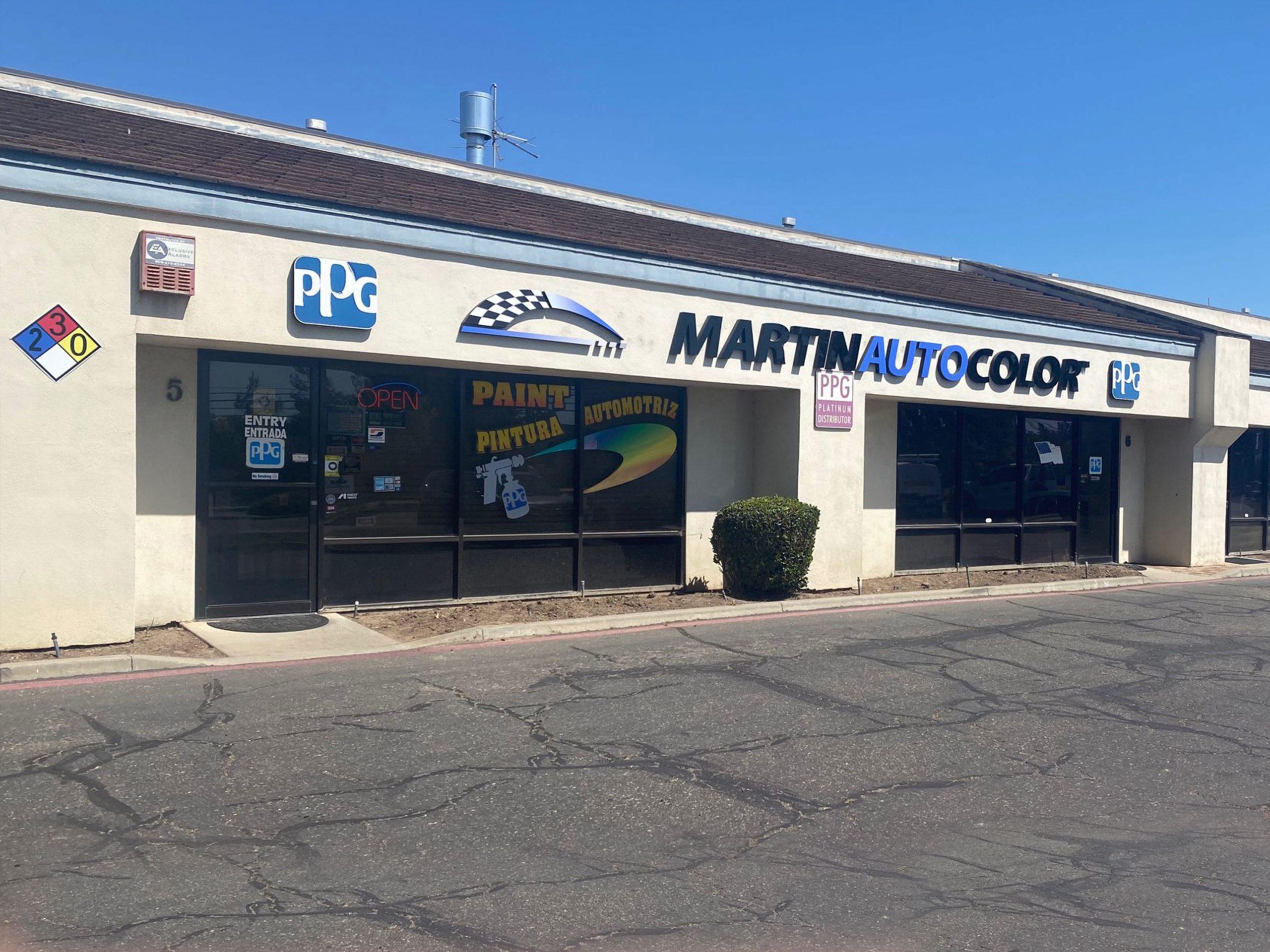 Martin Auto Color Santa Maria