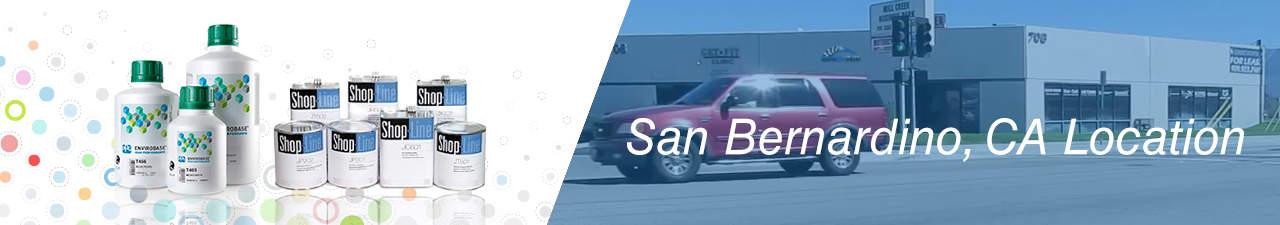 San Bernardino PPG Paint Distributor