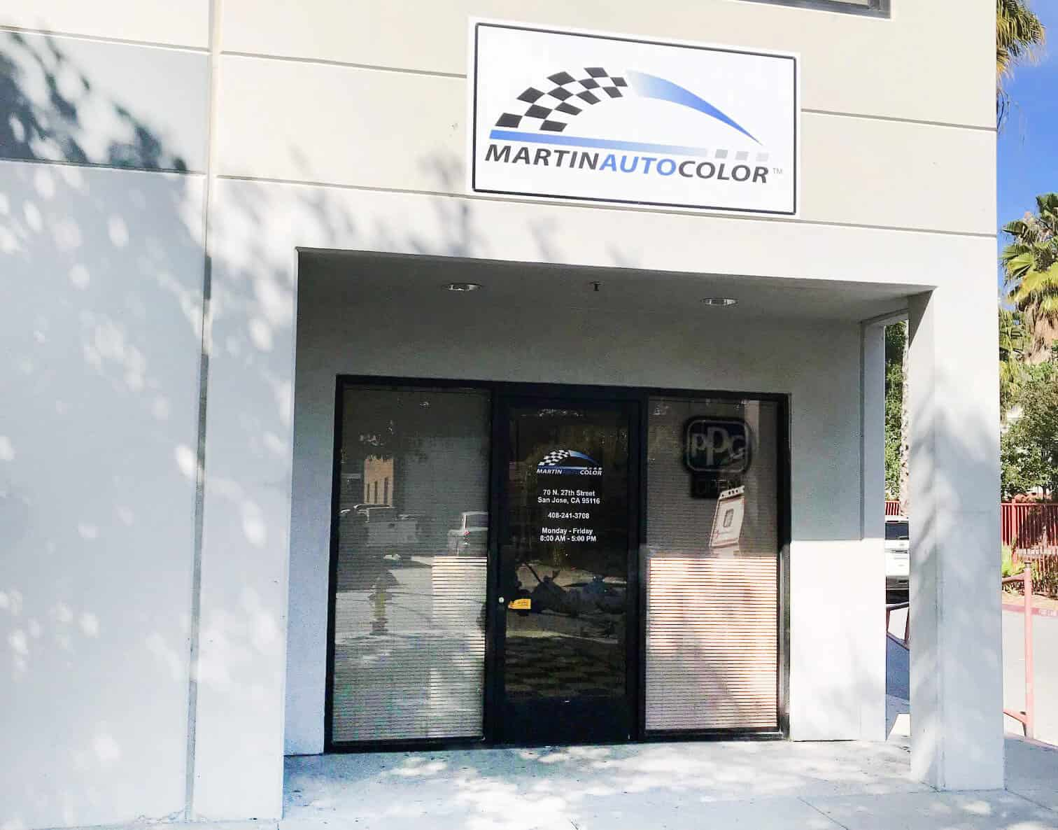 Martin Auto Color San Jose
