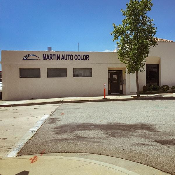 Martin Auto Color San Fernando