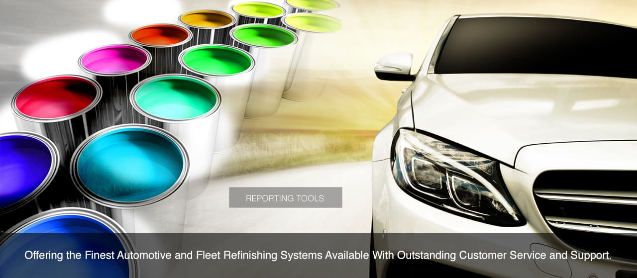 Offering the finest automotive and fleet refinishing systems available with outstanding customer service and support.