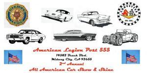 2nd Annual All-American Car Show & Shine