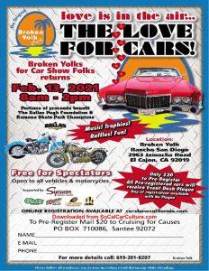Broken Yolks for Car Show Folks