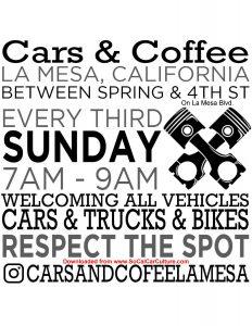 Car & Coffee La Mesa