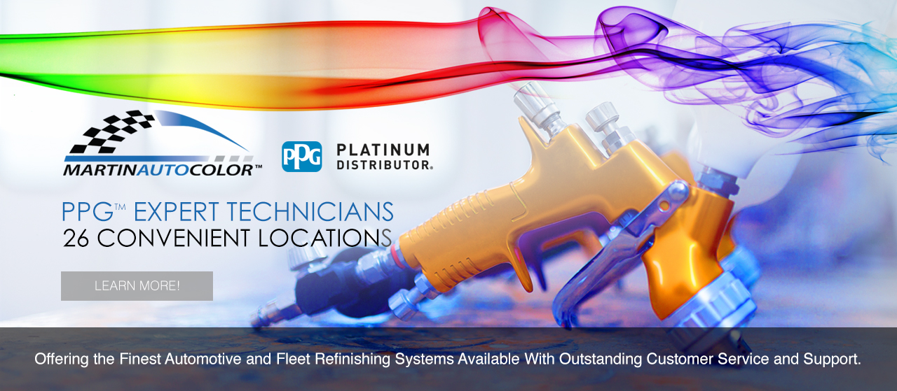 PPG Expert Technicians with 26 Locations