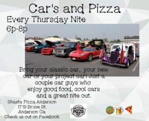 Cars and Pizza