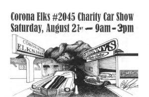 Corona Elks Charity Car Show