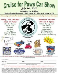 Cruise For Paws Car Show