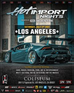 Hot Import Nights in Los Angeles