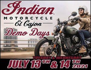 Indian Motorcycle 2021 Demo Truck