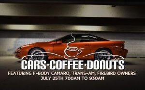 July - Cars Coffee N Doughnuts