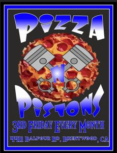 Pizza and Pistons