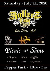 Rollerz Only San Diego Picnic and Show