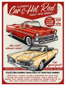 The Classic Car & Hot Rod Meet and Greet