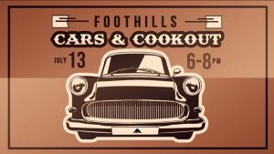 The Foothills Church Cars & Cookout