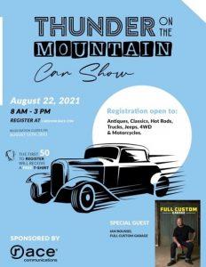 Thunder On The Mountain Car Show